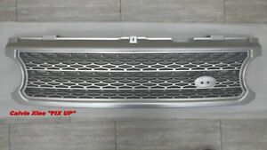 MIT SILVER FRONT GRILLE FOR RANGE ROVER L322 SUPERCHARGED MODEL 2006-2009
