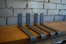 1x DIY Shelf Bracket Hanger Scaffold Shelve Angle Rustic Industrial HANDMADE T2