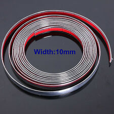 10mm * 3M Car Styling Chrome Moulding Trim Strip Decor Adhesive Strip cover Tape
