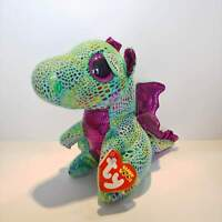 "Cinder the Dragon - Ty Beanie Boo Plush - Style 36186 - Regular 6"" 15cm - NEW"