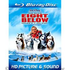 Sled Dogs Antarctica Winter Ice True Life Dog Survival Movie Eight Below Blu-ray