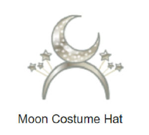 Webkinz Classic Moon Costume Hat ~promo clothing item~ *Code Only*