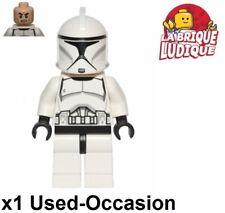 Lego Figurine Minifig Star Wars Stormtrooper clone trooper sw0442 USED