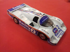 POLISTIL TONKA PORCHE 956 RACING N°2 FRANCE 1/27 VOITURE CAR MINIATURE METAL