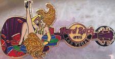 Hard Rock Cafe LAS VEGAS 2012 City Core SHOWGIRL Guitar PIN - HRC Catalog #65183