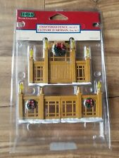 Lemax Craftsman Fence for Christmas Village Scene Figures