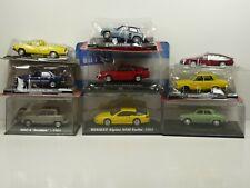 KAS24 LOT de 9 voitures RENAULT 1/43 collection cassés broken models rotos
