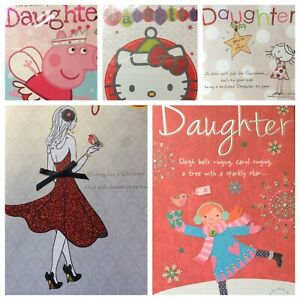 Daughter Christmas card   (F11)