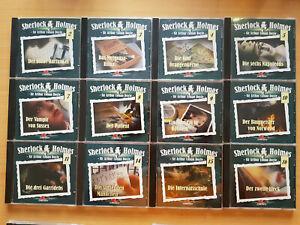 Sherlock Holmes Diverse Folgen: 3* Folgen zur Auswahl! von Maritim CD lesen!