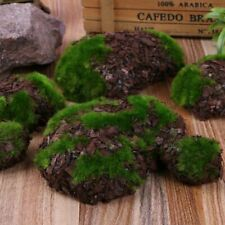 Artificial Foam Fake Moss Rock Fuzzy Wood Stone Landscape Home Garden Decoration