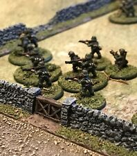 6mm / 10mm Wargames 18 piece Stone Wall Sections Set