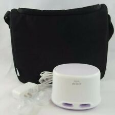 Philips Avent Double Breast Pump SCF334 with Power Cord and Shoulder Bag (A2)