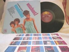 MARTHA & THE VANDELLAS WATCHOUT! ORG '66 STEREO CLASSIC SOUL-POP NM DISC!