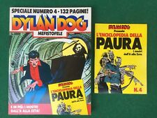 DYLAN DOG SPECIALE n.4 + Albetto ENCICLOPEDIA PAURA Allegato BONELLI (1990)