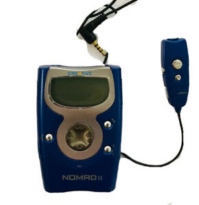 Nomad II Digital Media Player By Creative Blue Vintage MP3 Flash