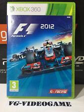 F1 ( FORMULA1) 2012 XBOX 360