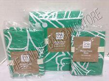 Pottery Barn Teen Morgan Floral Bed Duvet Cover Full Queen FQ Shams Gumdrop GRN