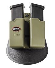 Fobus double magazine pouch 6900 Green Mags PADDLE Glock 9mm .40 .357 .45 G.A.P