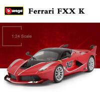 Bburago 1:24 Scale Diecast Car Model FERRARI FXX K FXXK #10 Racing Sports Car