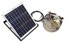 Closeout Rand Solar Powered Attic Gable Fan-30 Watt Ventilator Panel
