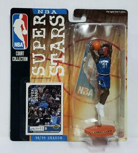 KEVIN GARNETT Minnesota Timberwolves Mattel Superstars 1998 99 NBA Figure & Card
