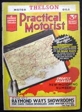 "PRACTICAL MOTORIST MAGAZINE 5 MAR 1938 - LOUIS RENAULT, VAUXHALL ""TEN"""