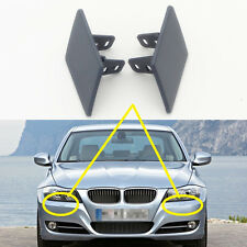 1 Pair BMW 3series E90 E91 2009-2011 Front Bumper Headlight Washer Cover Cap