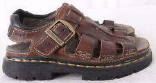 Dr. Doc Martens 5A23 England Oiled Non Slip Fisherman Sandals Men's UK 6 (US 7)