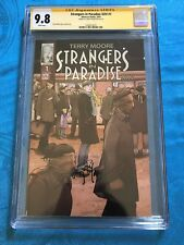 Strangers in Paradise XXV #1 FCBD - Abstract - CGC SS 9.8 - Signed by T Moore