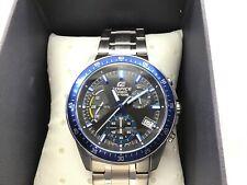 CASIO EDIFICE Chronograph EFV-540D-1A2VDF Mens Watch Black Stainless Steel