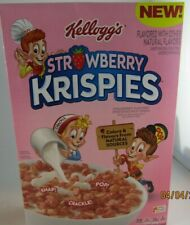 strawberry rice krispies cereal- exp may 23rd 2020