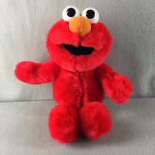"Talking Elmo Loves You Plush 15"" 1997 Stuffed Toy Working"