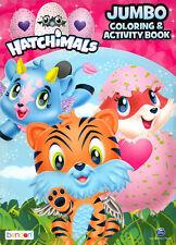 Hatchimals coloring book RARE UNUSED