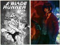 Blade Runner 2019 #1 NYCC New York Comic Con Black / White + SDCC VIRGIN VARIANT