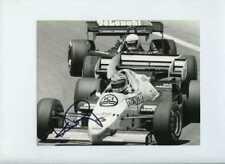 Keke Rosberg Williams FW09 F1 Season 1984 Signed Press Photograph