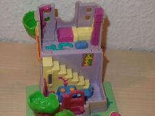 Polly Pocket Mini Spielhaus - Giraffe House - 3 Figuren Bluebird