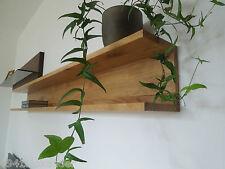 Wandboard Eiche Massiv Holz Board Regal Steckboard Regalbrett NEU - auch auf Maß