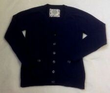 Justice Cardigan Sweater Sz 14 Blue School Uniform Button Front Layering Top