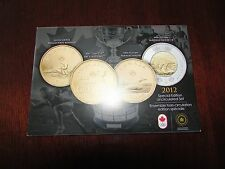Canada 2012 Grey Cup Special Edition Uncirculated Set - RCM Sealed