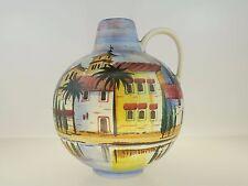 Große Jawe Edel-Keramik Vase mit Handmalerei ´Swiz´