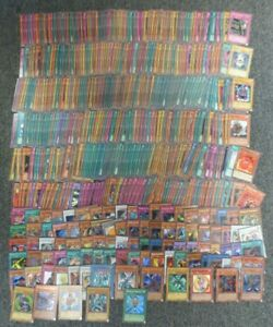 Yu-Gi-Oh Cards - 749 HOLOS, RARES, & COMMONS - COLLECTION LOT - WHOLESALE BULK