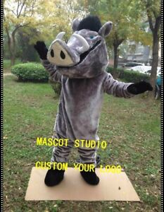 Boar  Mascot Costume Cosplay Party Game Dress Outfit Advertising Halloween Adult