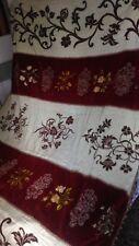 Antico copriletto coperta arazzo metà 1800 tutto fatto a mano