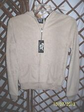 Planet Gold Juniors Terry Warm up Hoodie Jacket Zip Front Sz S NWT B3