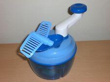 Tupperware Tupper Quick Chef Quickchef zerkleinert alles in Nullkommanichts blau