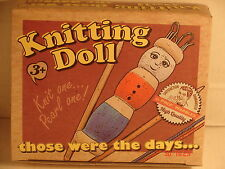 Wooden French Knitting Doll Kit-Children 's New Crafts