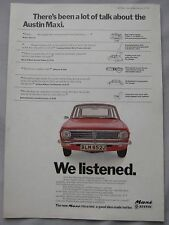 1971 Austin Maxi Original advert No.1