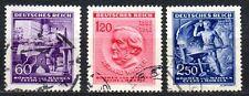 Germany / Bohmen und Mahren - 1943 Wagner / Music Mi. 128-30 FU