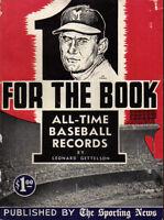 1955 The Sporting News One for the Book, Baseball, magazine, Joe Adcock, Braves