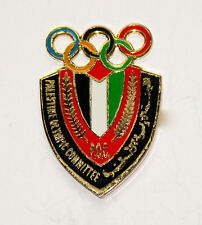 Atlanta 1996 Palestine Undated Olympic NOC Pin Badge: First Ever!